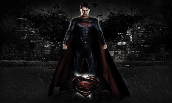 Fanposter de Superman / Batman