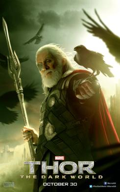 Póster de Odín para Reino Unido de Thor: El Mundo Oscuro (2013)
