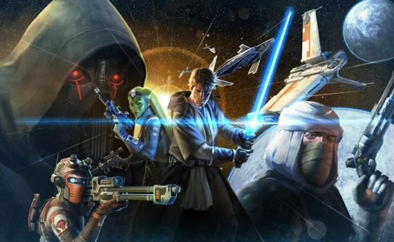 Concept art del videojuego Star Wars: Old Republic, por Paul Adam