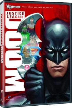 Portada del DVD de Justice League: Doom