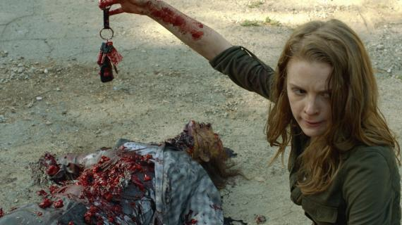 Imagen de la tercera temporada de los webisodes de The Walking Dead, titulada The Oath