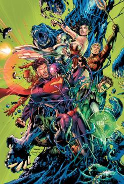 Liga de la Justicia #2: La batalla de Metropolis de DC Comics publicado por ECC Ediciones
