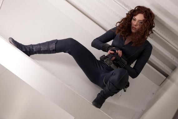 Imagen de Black Widow/Viuda Negra en Iron Man 2 (2010)