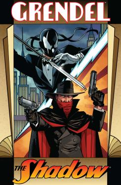 The Shadow vs. Grendel por Dark Horse y Dynamite