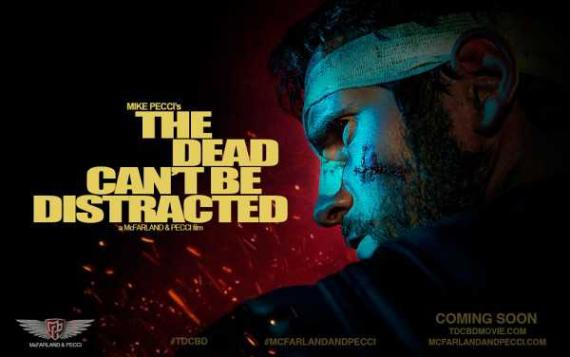 Póster del corto The dead can't be distracted, sobre el personaje Punisher