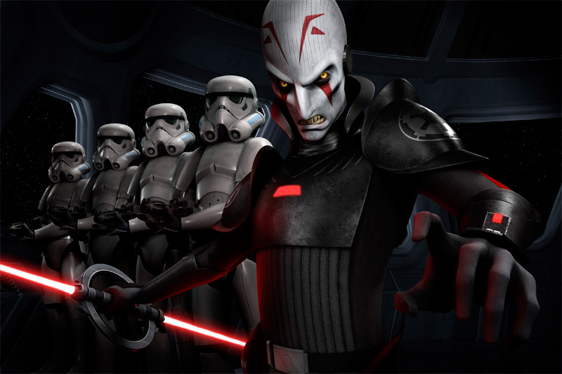 Imagen de la serie Star Wars: Rebels (2014), The Inquisitor