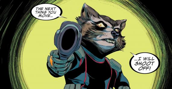 Interior del cómic Guardians of the Galaxy: Tomorrow's Avengers #1