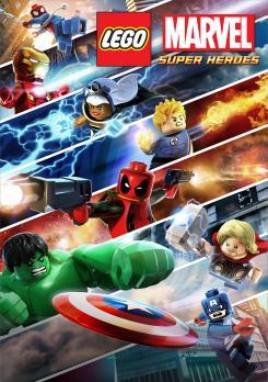 Póster de LEGO Marvel Super Heroes