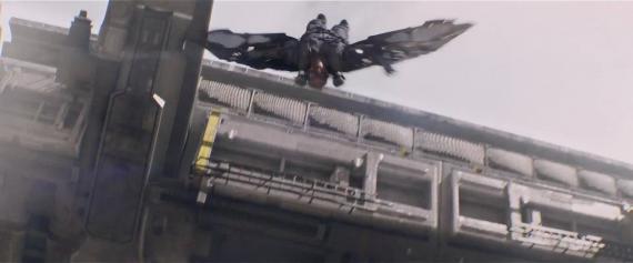 Captura del primer trailer de Capitán América: El Soldado de Invierno (2014)