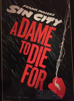 Teaser póster de Sin City: A Dame to Kill For (2013)