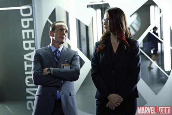 Imagen del episodio 1x07: The Hub, de la serie Marvel's Agents of S.H.I.E.L.D.