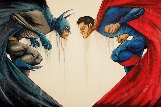 Artwork de Batman vs. Superman (2015)
