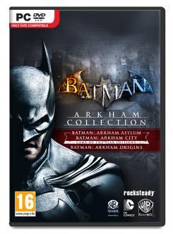 Carátula para PC del pack Batman: Arkham Collection (2013)