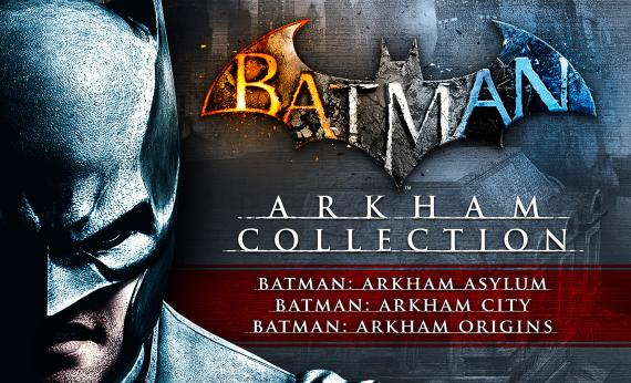 Imagen promocional del pack Batman: Arkham Collection (2013)