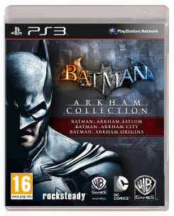 Carátula para PS3 del pack Batman: Arkham Collection (2013)