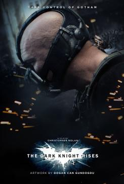 Fan-made póster de The Dark Knight Rises