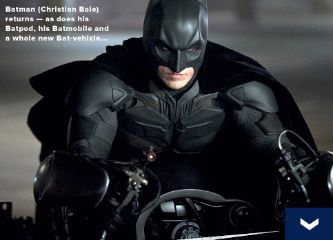 Imagen de The Dark Knight de la revista Empire