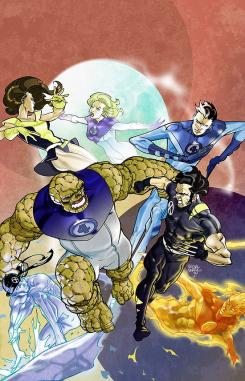 Imagen del cómic Ultimate X-Men/Fantastic Four