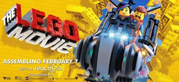 Banner de The LEGO Movie (2014)