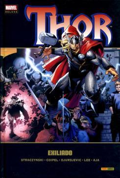 Portada del cómic español Marvel Deluxe Thor 3 - Exiliado