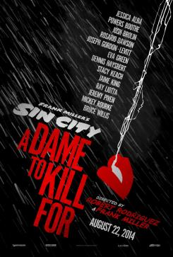 Teaser poster de Sin City: A Dame to Kill For (2014)