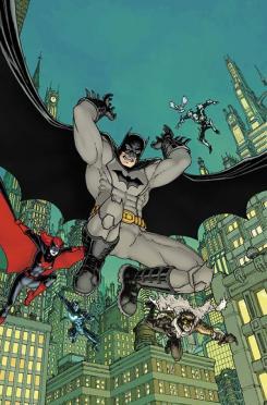 Portada de Detective Comics #27 por Chris Burnham