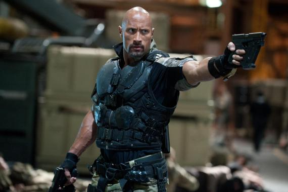 Dwayne Johnson en la película G.I. Joe: Retaliation (2013)
