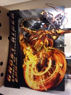 Standee de Ghost Rider: Spirit of Vengeance (2012)