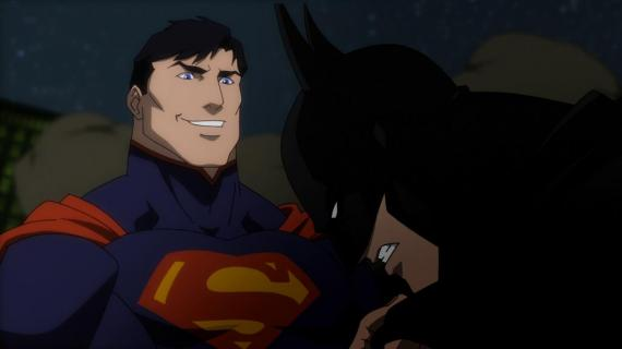 Superman y Batman en Justice League: War (2014)
