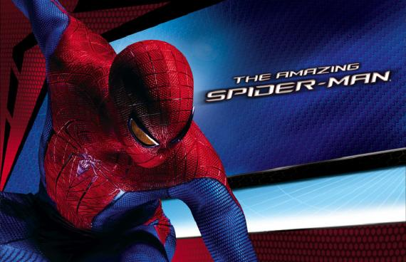 Banner internacional de The Amazing Spider-Man