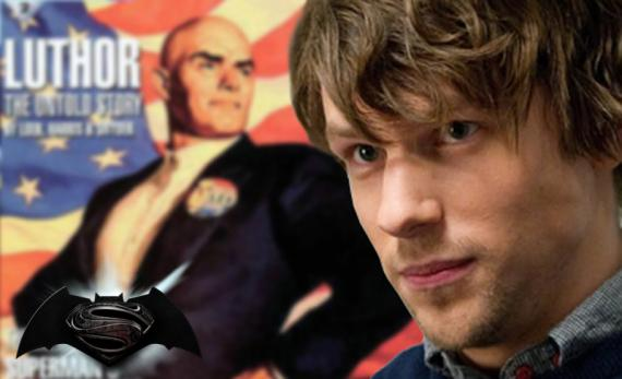 Jesse Eisenberg es Lex Luthor en Batman vs. Superman (2016)
