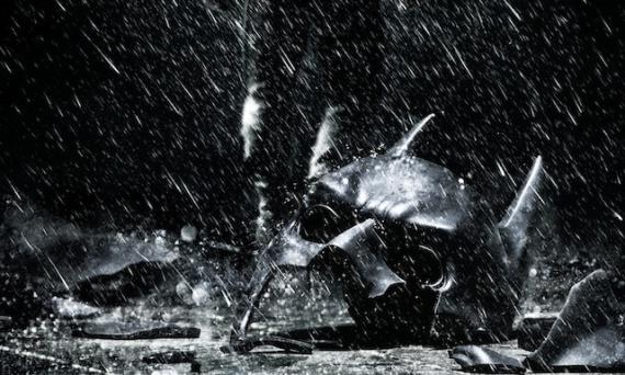 Extracto de uno de los pósters de The Dark Knight Rises