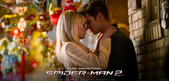 Imagen promocional de The Amazing Spider-Man: El poder de Electro (2104)