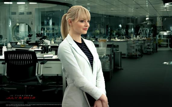 Wallpaper de Gwen Stacy de The Amazing Spider-Man (2012)