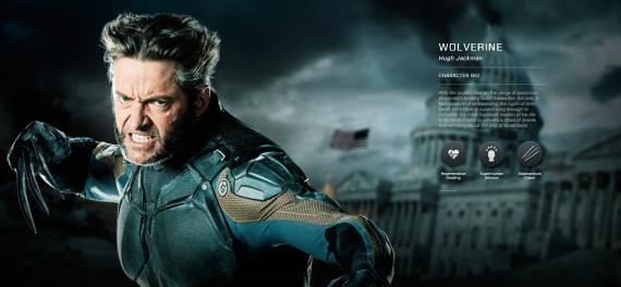 Imagen promocional de X-Men: Días del Futuro Pasado (2014), Lobezno