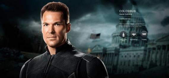 Imagen promocional de X-Men: Días del Futuro Pasado (2014), Coloso