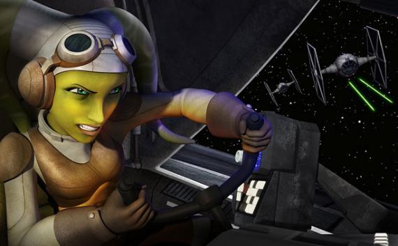 Imagen de la serie de animación Star Wars Rebels