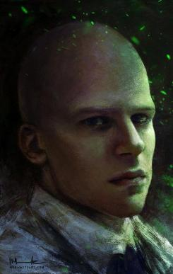 Fan-Art de Jesse Eisenberg como Lex Luthor en Batman vs. Superman (2016)