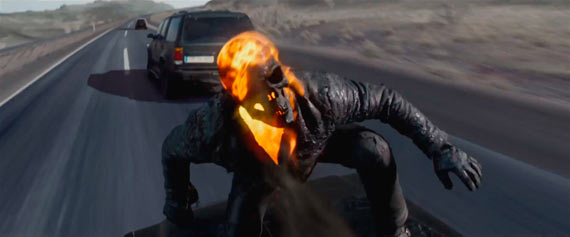 Captura del segundo trailer de Ghost Rider: Spirit of Vengeance
