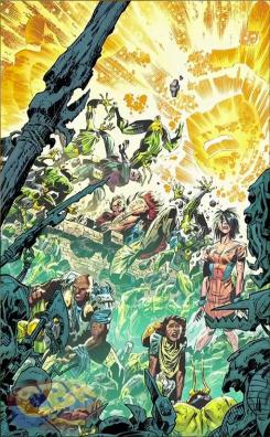 Portada de Infinity Man and the Forever People