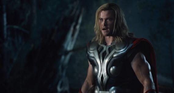Captura del trailer de The Avengers (Los Vengadores)