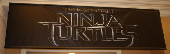 Vistazo al logo de Teenage Mutant Ninja Turtles (2014) en la CinemaCon de Las Vegas
