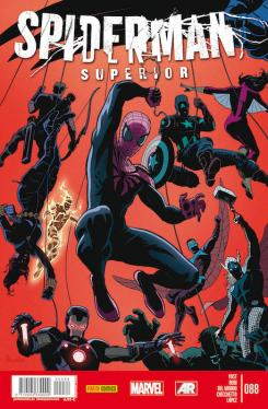 Portada del cómic español Spiderman Superior 88