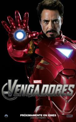 Póster individual para España de Los Vengadores / The Avengers (2012)
