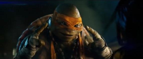 Captura del trailer de Teenage Mutant Ninja Turtles (2014)