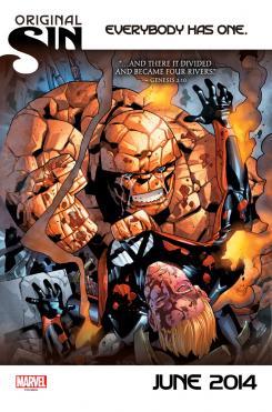 Cruce de la serie de los Cuatro Fantásticos con el evento Original Sin