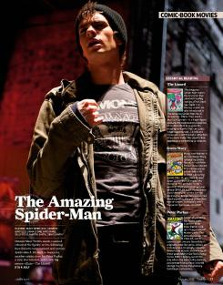 Scan de The Amazing Spider-Man de la revista Total Film