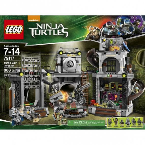 Set de LEGO de Teenage Mutant Ninja Turtles (2014)