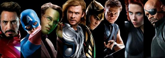 Fan-made banner de The Avengers / Los Vengadores