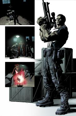 Preview del interior del cómic Original Sin #1, dibujo por Mike Deodato, Jr.